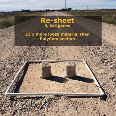 Re-sheeted section vs PolyCom