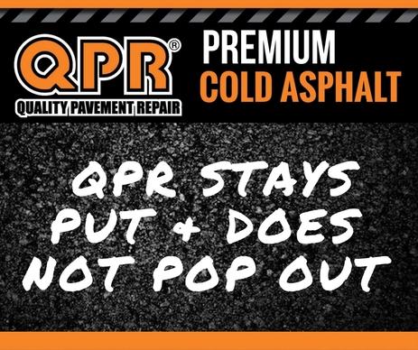 QPR PREMIUM PAVEMENT REPAIR